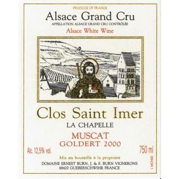 Muscat Clos Saint-Imer Goldert 2000