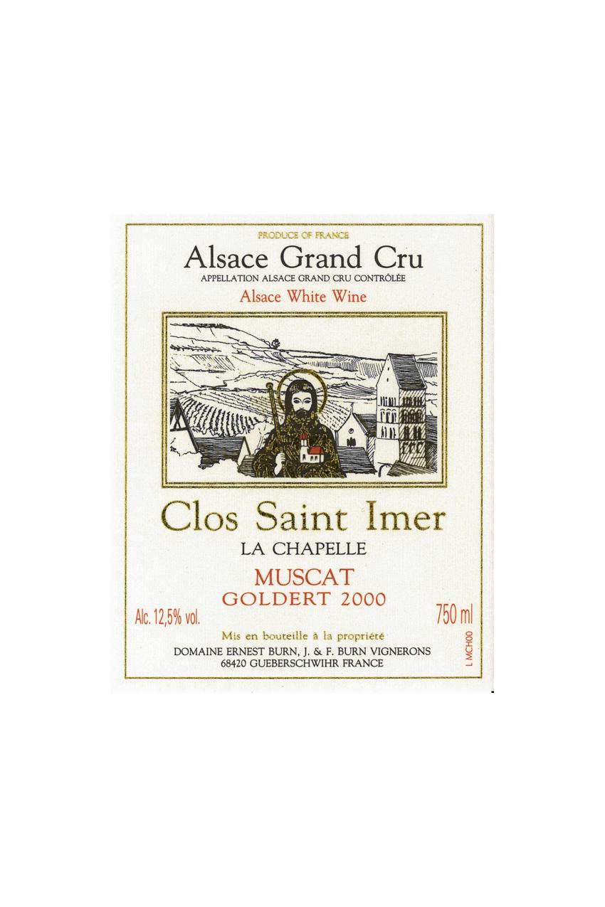 Muscat Clos Saint-Imer Grand Cru Goldert 2000