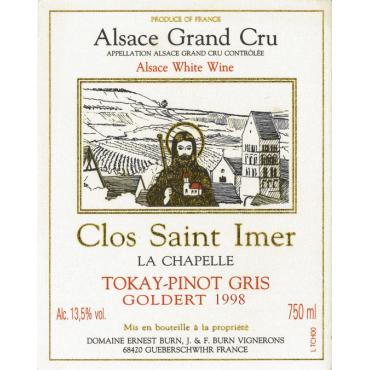 Pinot Gris Clos Saint-Imer Goldert 1998