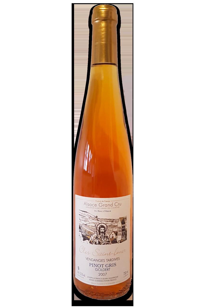 Pinot Gris Clos Saint-Imer Vendanges Tardives 2007