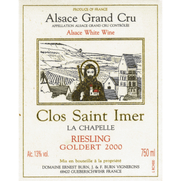 Riesling Clos Saint-Imer Grand Cru Goldert 2000