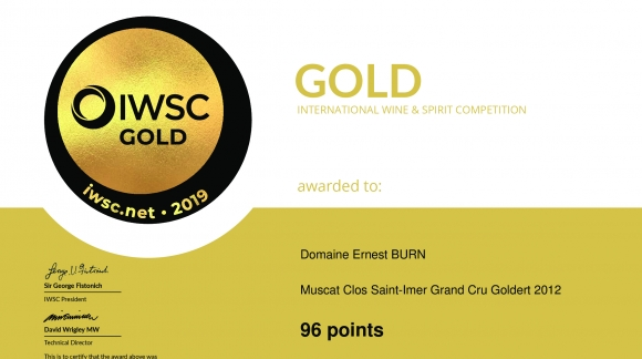 50e INTERNATIONAL WINE & SPIRIT COMPETITION