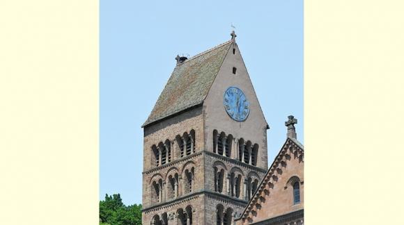 Pour la restauration du clocher roman du village