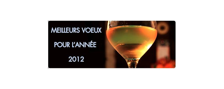 Nous vous souhaitons une merveilleuse Année 2012