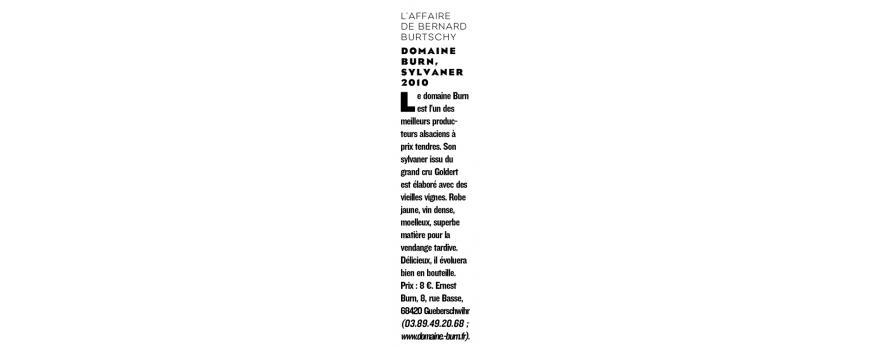 Le Figaro Magazine - l'Affaire de Bernard Burtschy