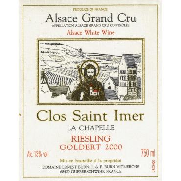 Riesling Clos Saint-Imer Goldert 2000