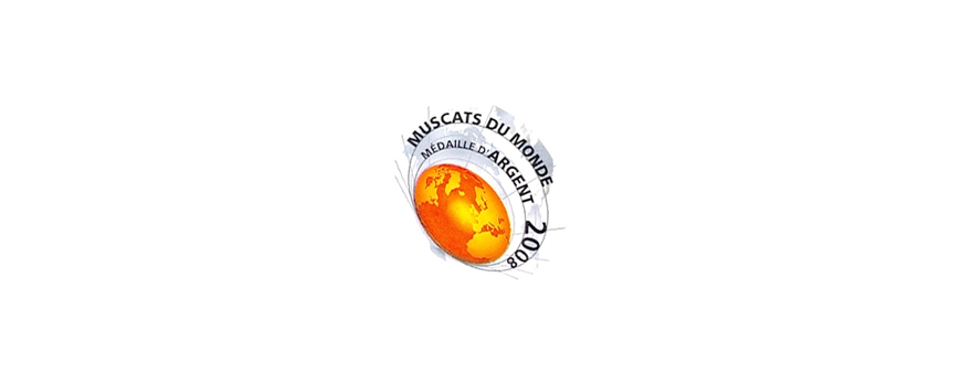Médaille d'Argent - Muscats du monde 2008