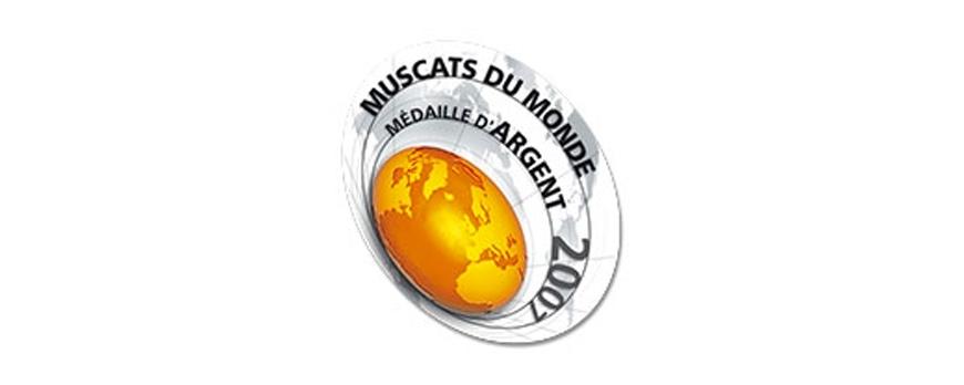 Médaille d'Argent - Muscat du monde 2007
