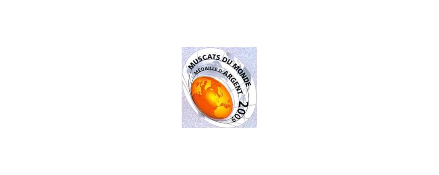 Médaille d'Argent - Muscats du monde 2009